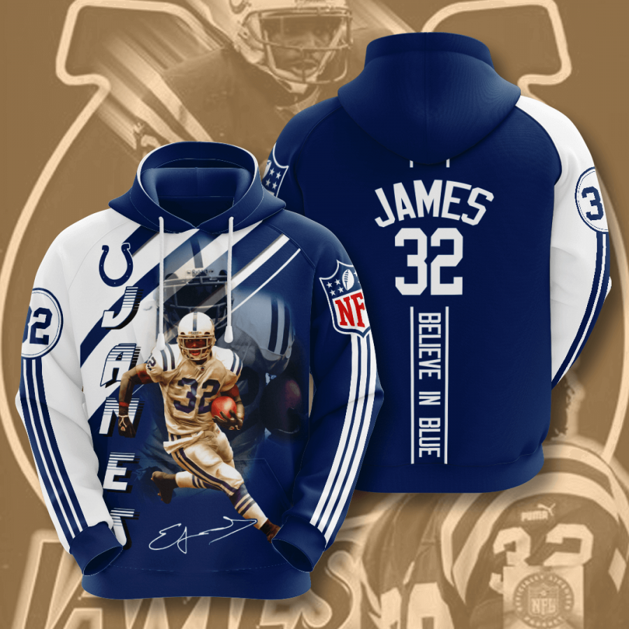 Indianapolis Colts No829 Custom Hoodie 3D
