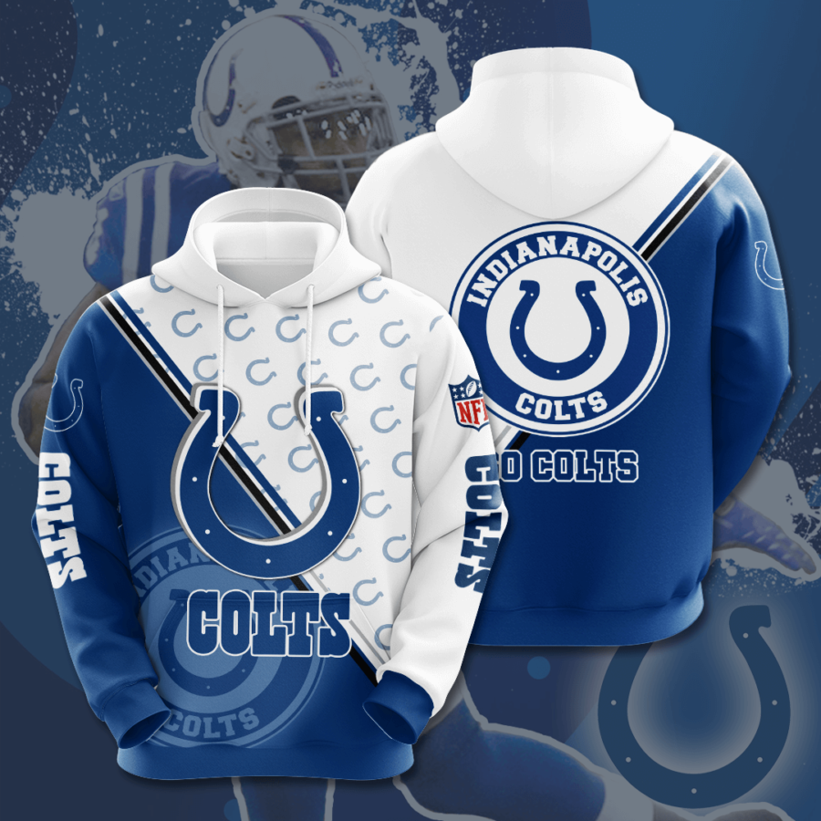 Indianapolis Colts No830 Custom Hoodie 3D