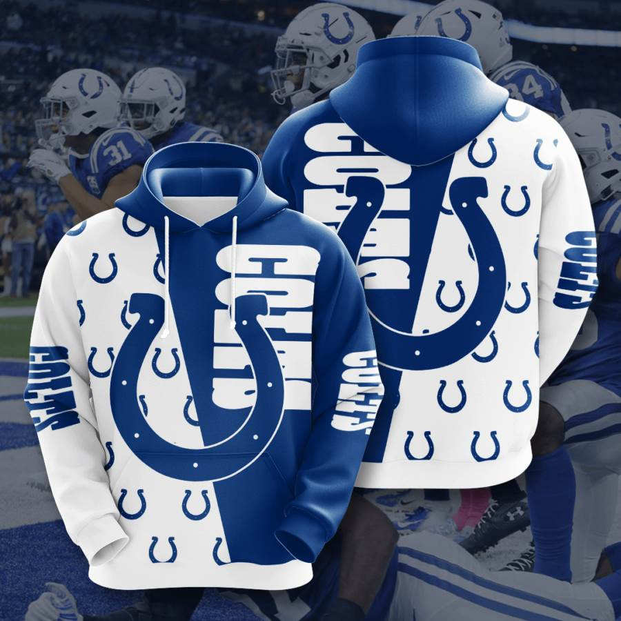 Indianapolis Colts No832 Custom Hoodie 3D