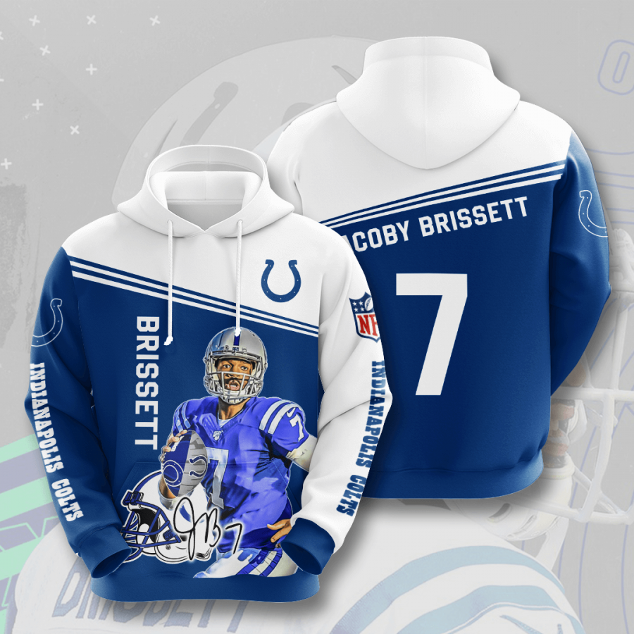 Indianapolis Colts No837 Custom Hoodie 3D