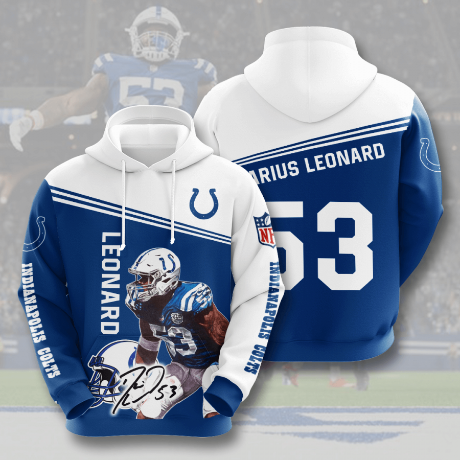 Indianapolis Colts No841 Custom Hoodie 3D