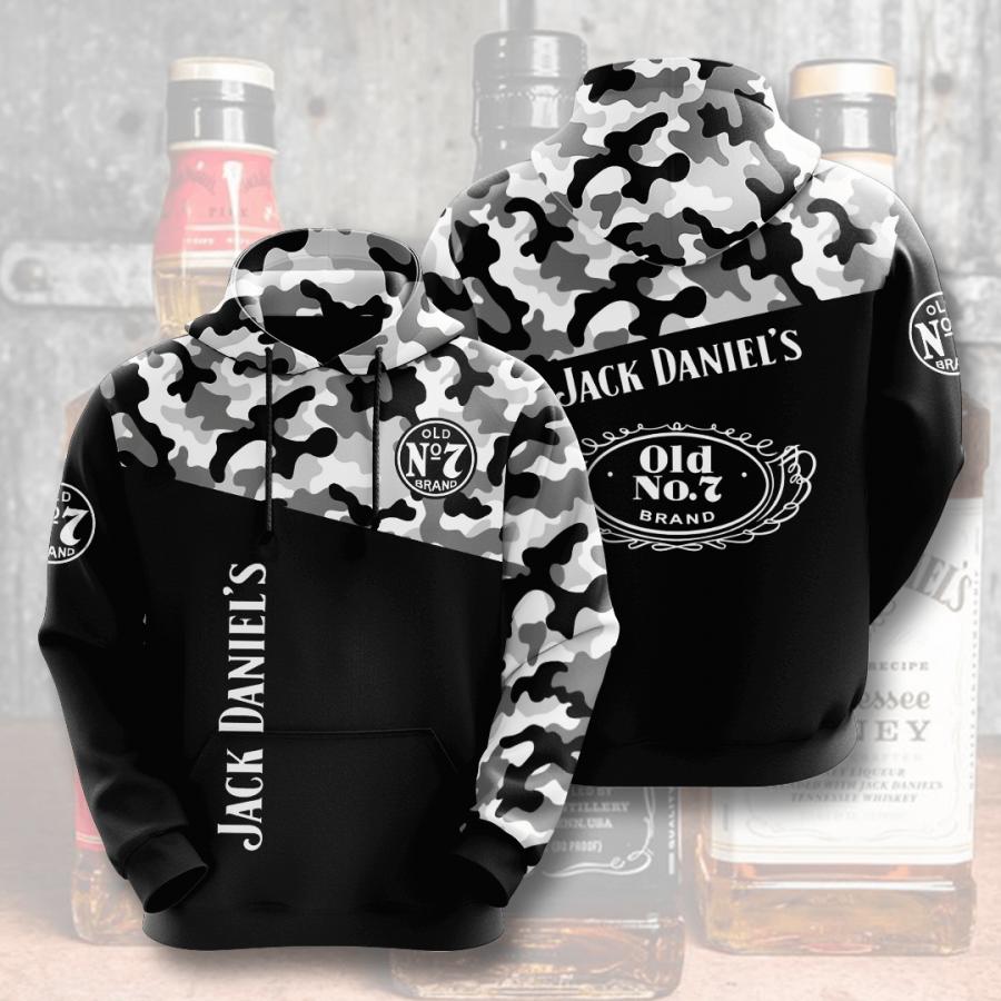 Jack Daniel?s No860 Custom Hoodie 3D