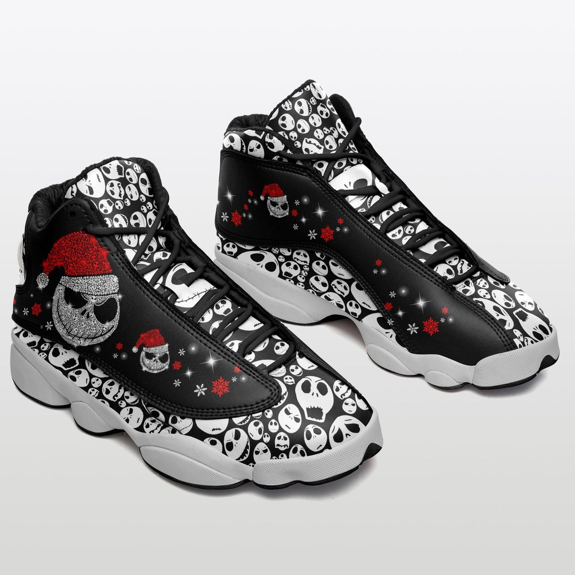 Jack Skellington Nightmare Before Christmas Sku 31 Air Jordan Shoes