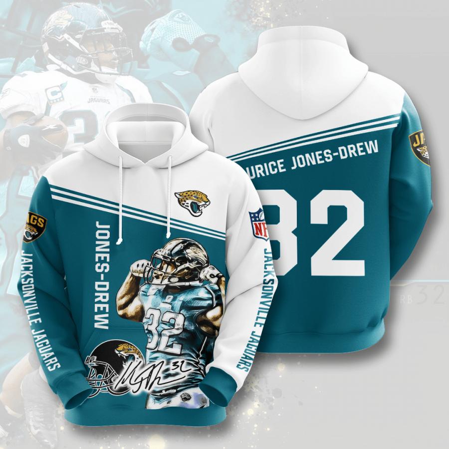Jacksonville Jaguars No864 Custom Hoodie 3D