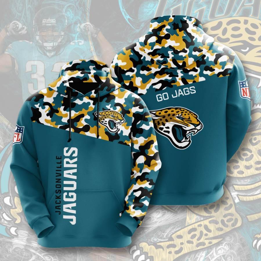 Jacksonville Jaguars No873 Custom Hoodie 3D