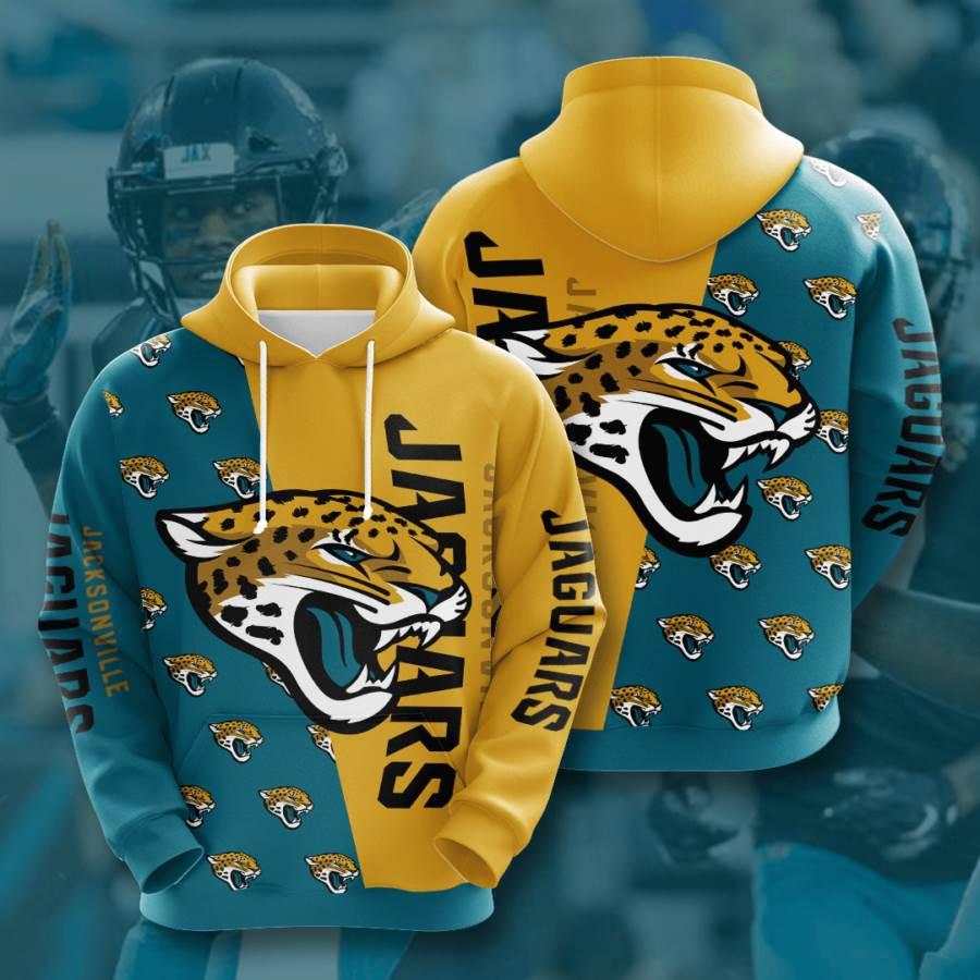 Jacksonville Jaguars No874 Custom Hoodie 3D