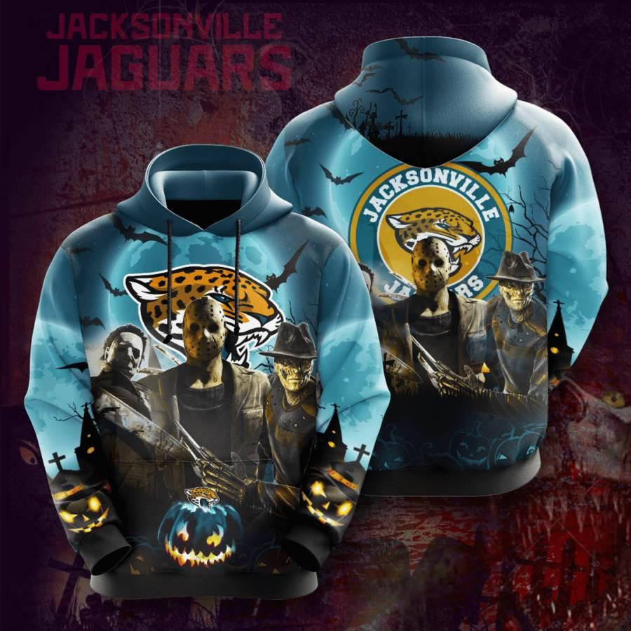 Jacksonville Jaguars No875 Custom Hoodie 3D
