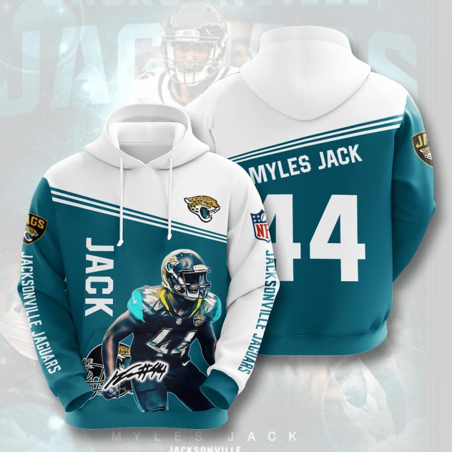 Jacksonville Jaguars No879 Custom Hoodie 3D
