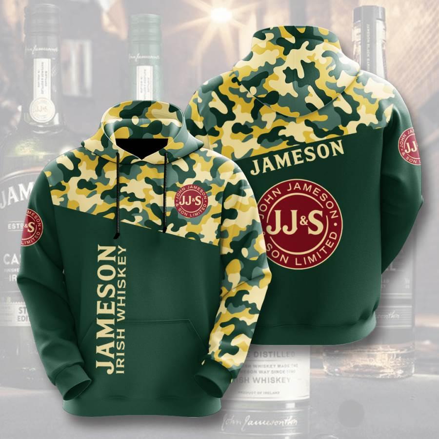 Jameson No886 Custom Hoodie 3D