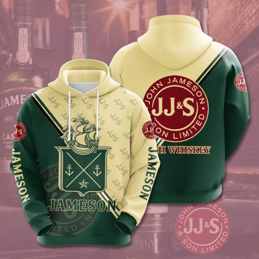 Jameson No887 Custom Hoodie 3D