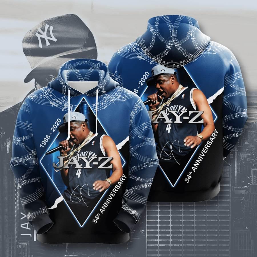 Jay Z No892 Custom Hoodie 3D