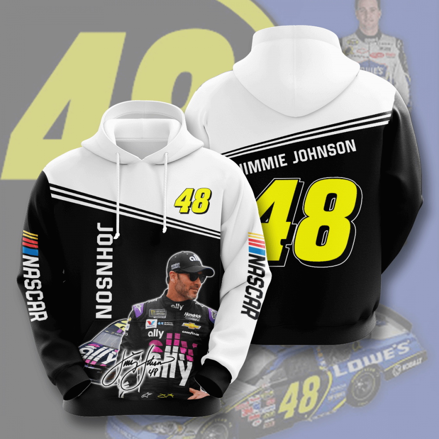 Jimmie Johnson No899 Custom Hoodie 3D