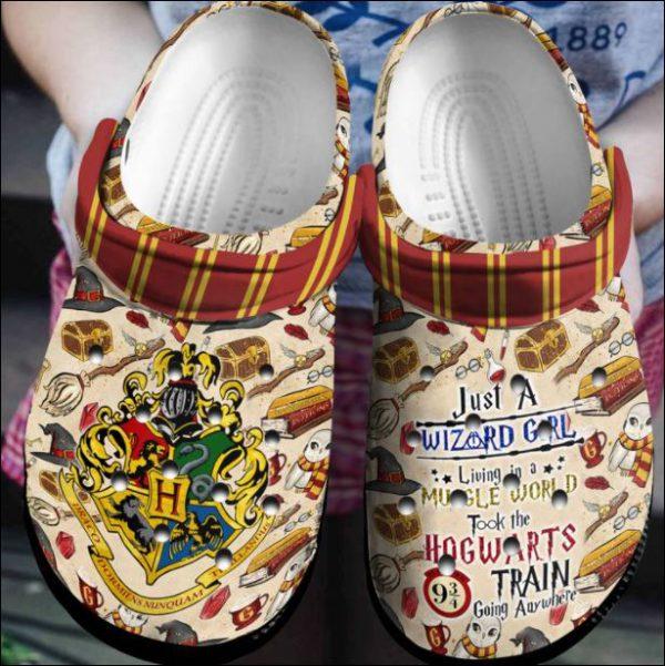 Just A Wizard Girl Crocs Clog Shoes