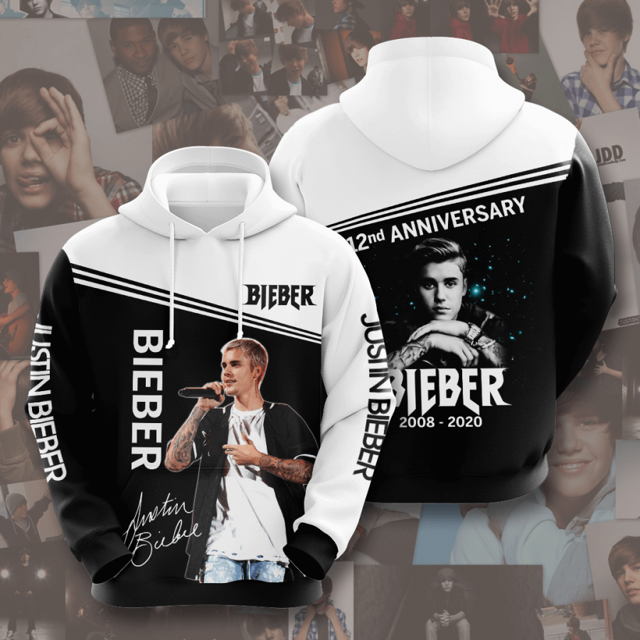 Justin Bieber No901 Custom Hoodie 3D