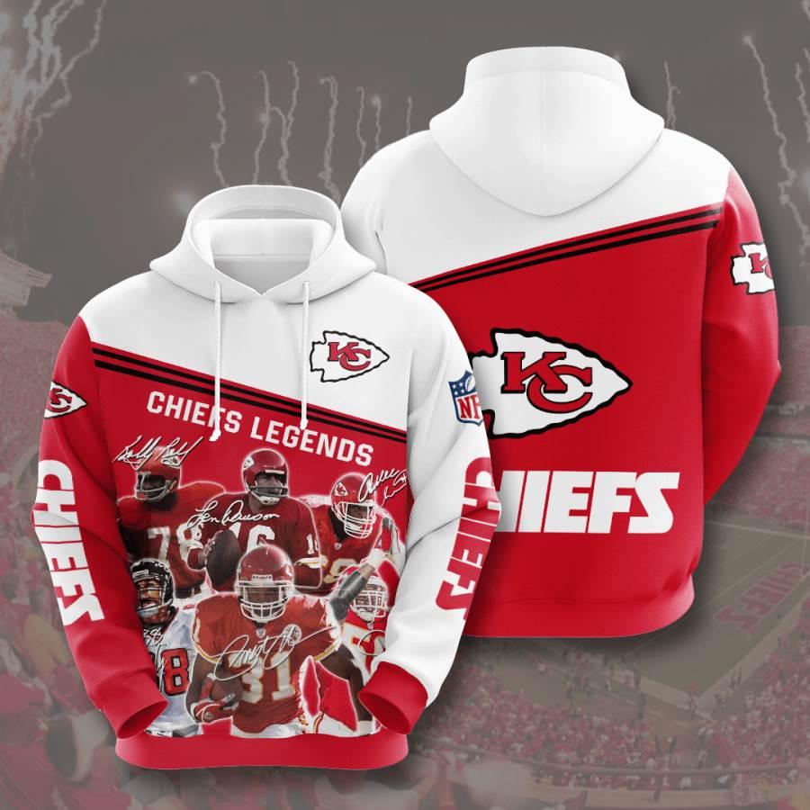 Kansas City Chiefs No905 Custom Hoodie 3D