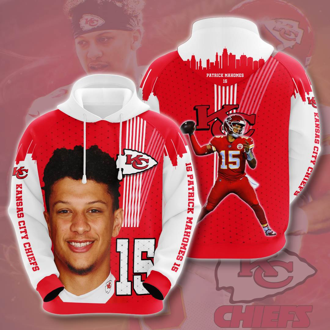 Kansas City Chiefs No906 Custom Hoodie 3D