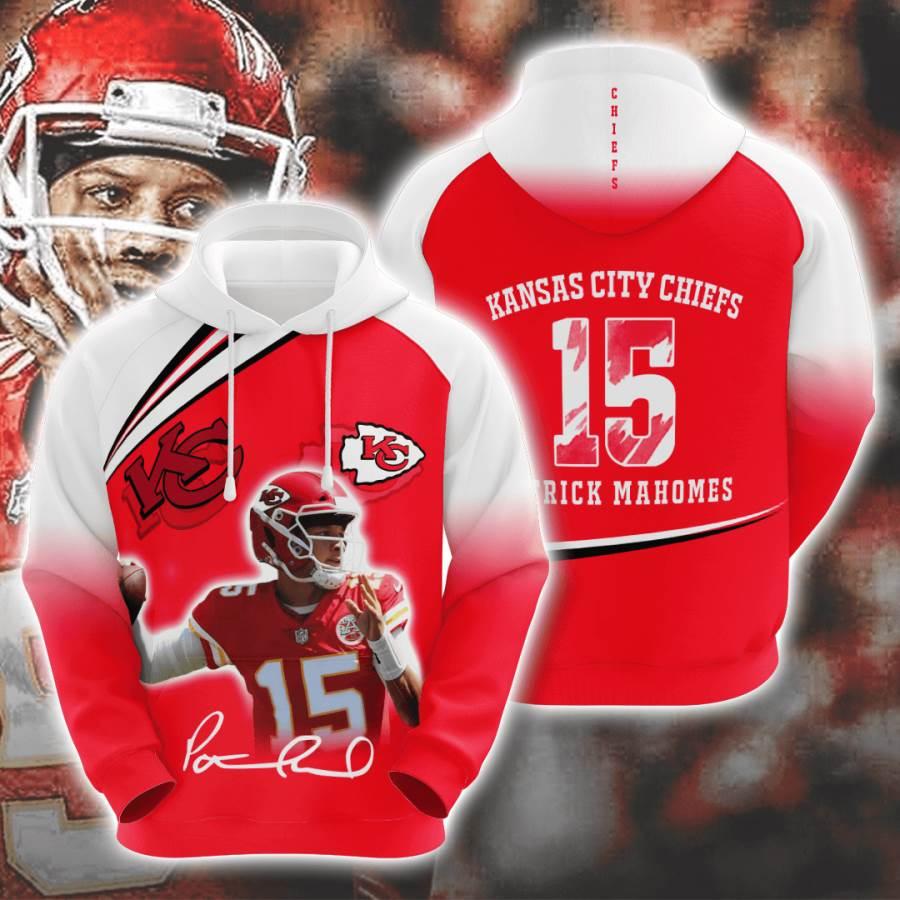 Kansas City Chiefs No908 Custom Hoodie 3D