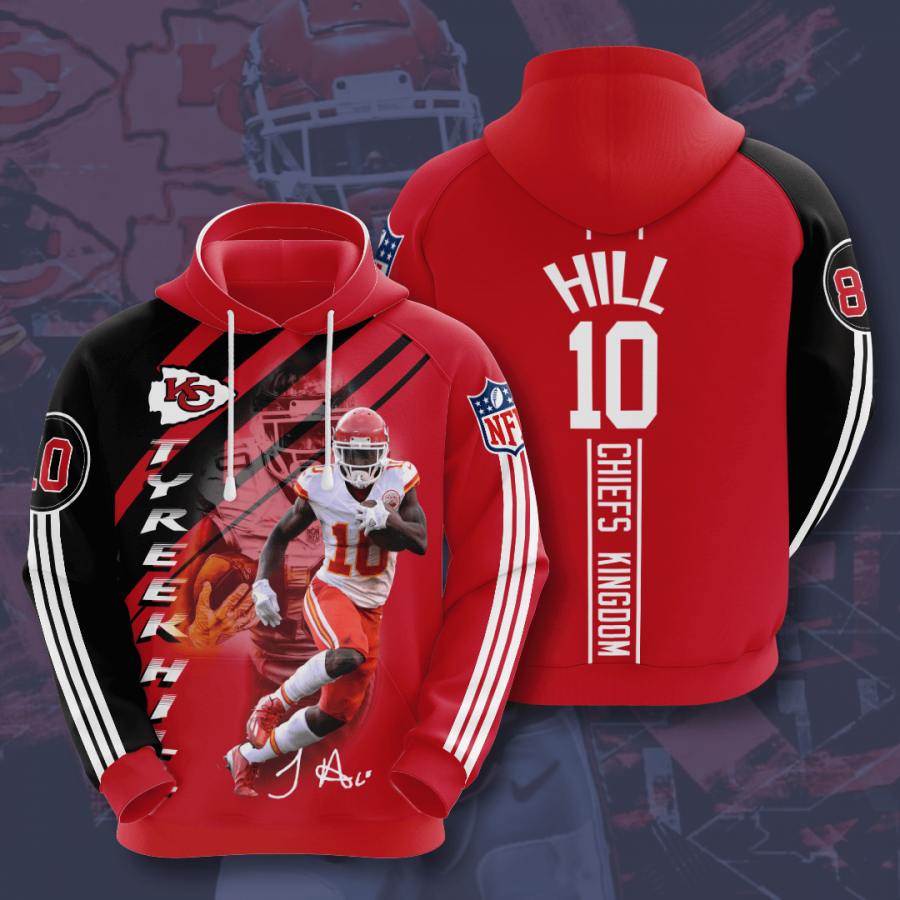 Kansas City Chiefs No911 Custom Hoodie 3D