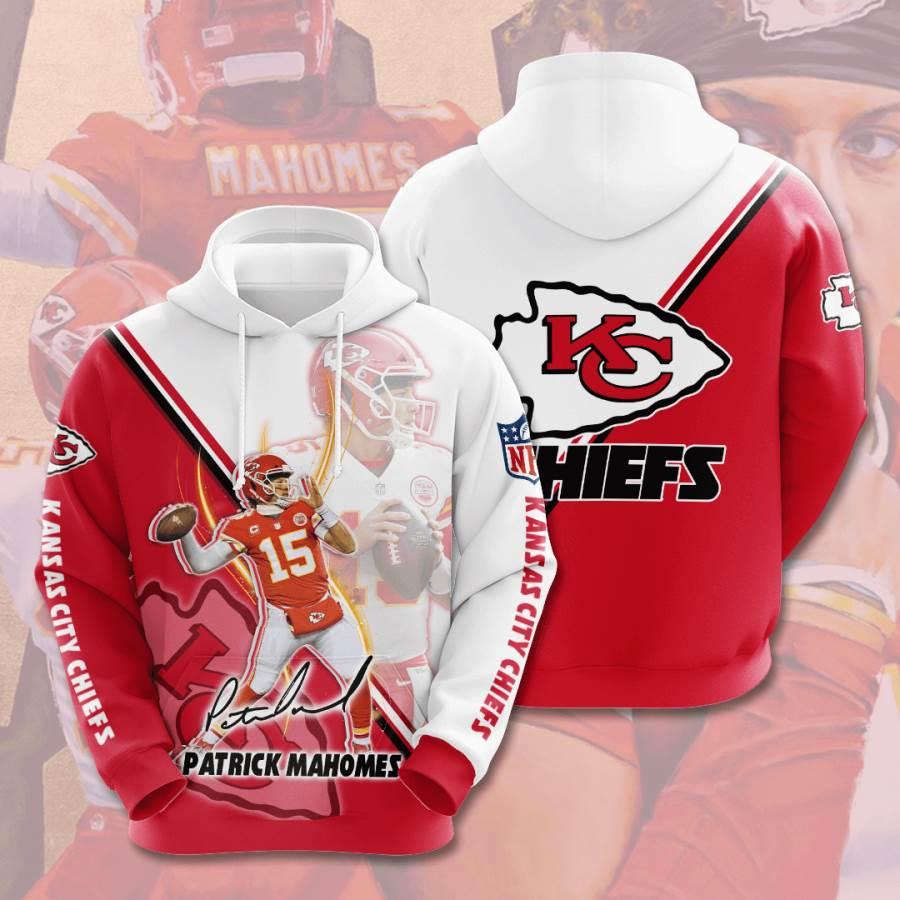 Kansas City Chiefs No913 Custom Hoodie 3D