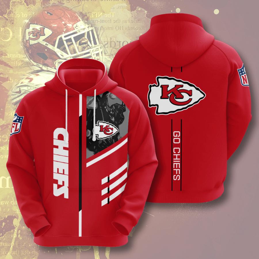 Kansas City Chiefs No914 Custom Hoodie 3D