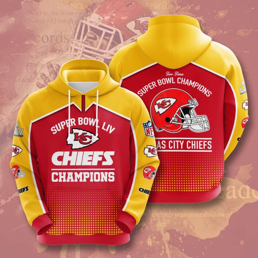Kansas City Chiefs No915 Custom Hoodie 3D