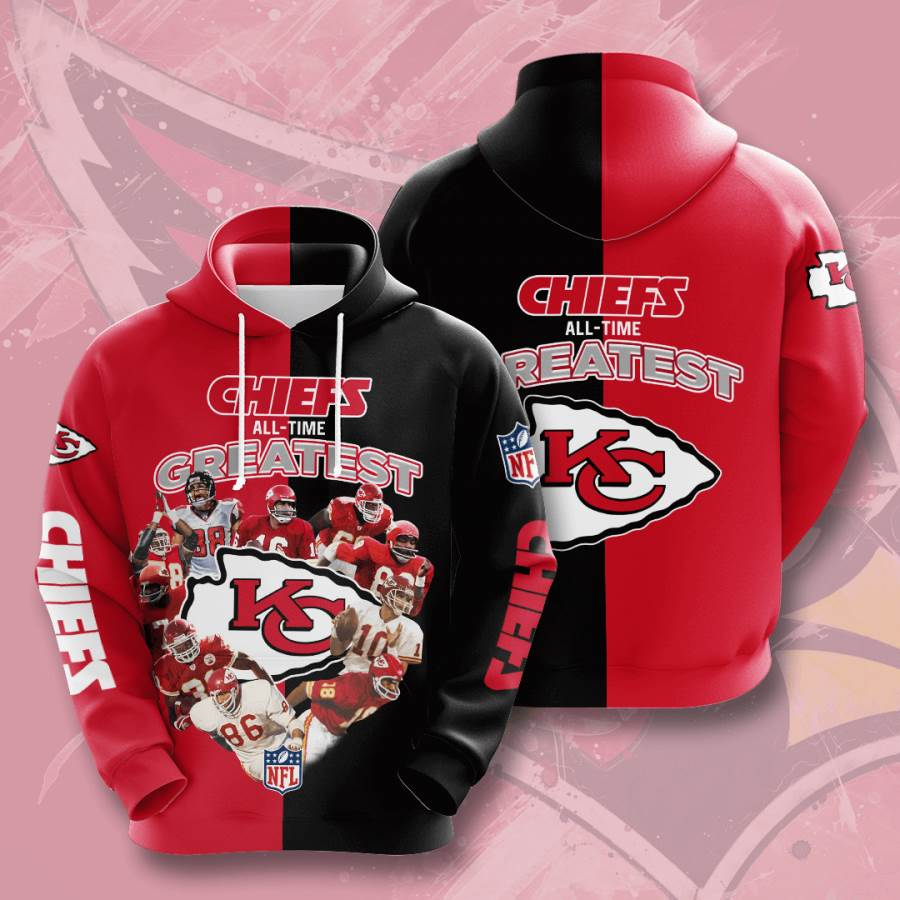 Kansas City Chiefs No916 Custom Hoodie 3D