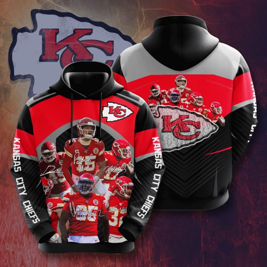 Kansas City Chiefs No918 Custom Hoodie 3D