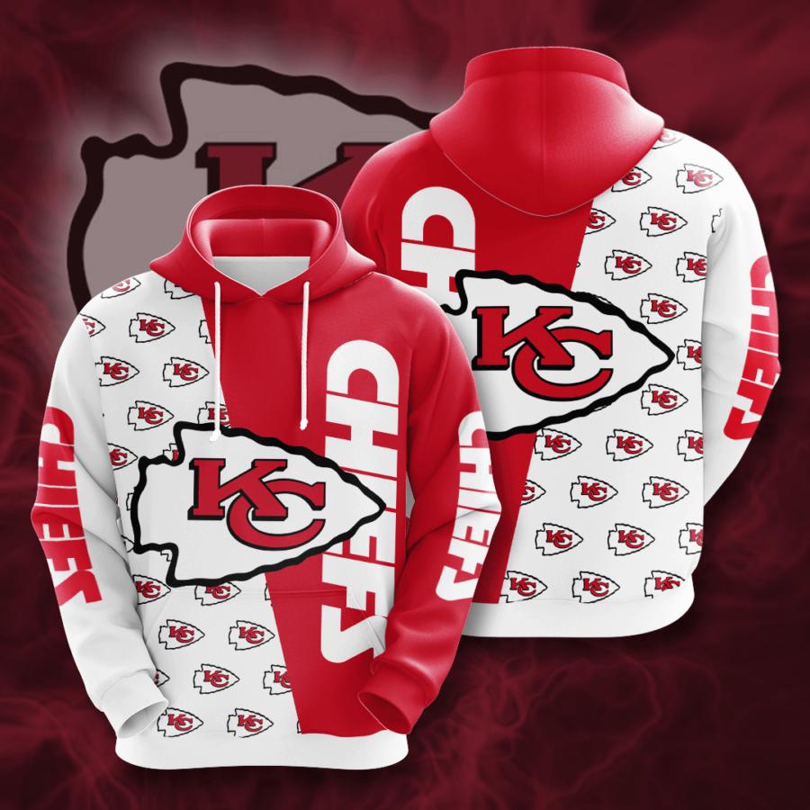 Kansas City Chiefs No919 Custom Hoodie 3D