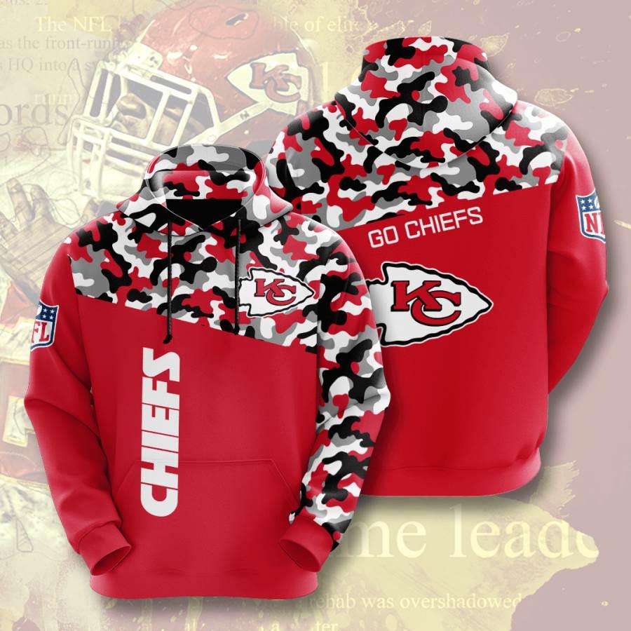 Kansas City Chiefs No922 Custom Hoodie 3D