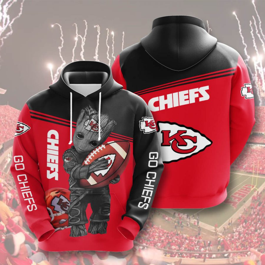 Kansas City Chiefs No924 Custom Hoodie 3D