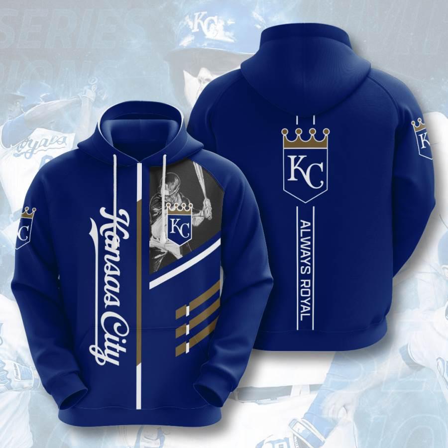 Kansas City Royals No936 Custom Hoodie 3D