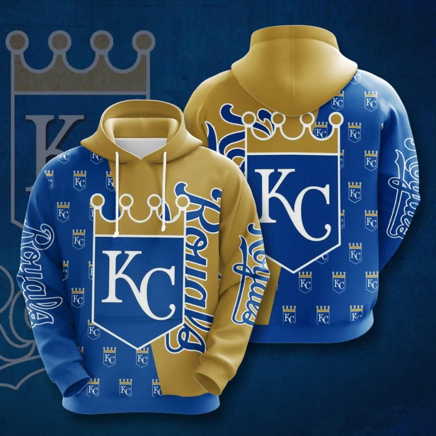 Kansas City Royals No937 Custom Hoodie 3D
