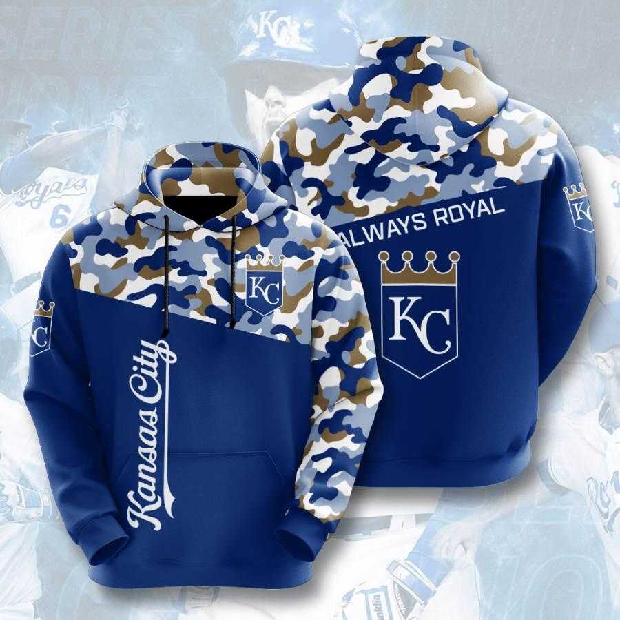 Kansas City Royals No938 Custom Hoodie 3D