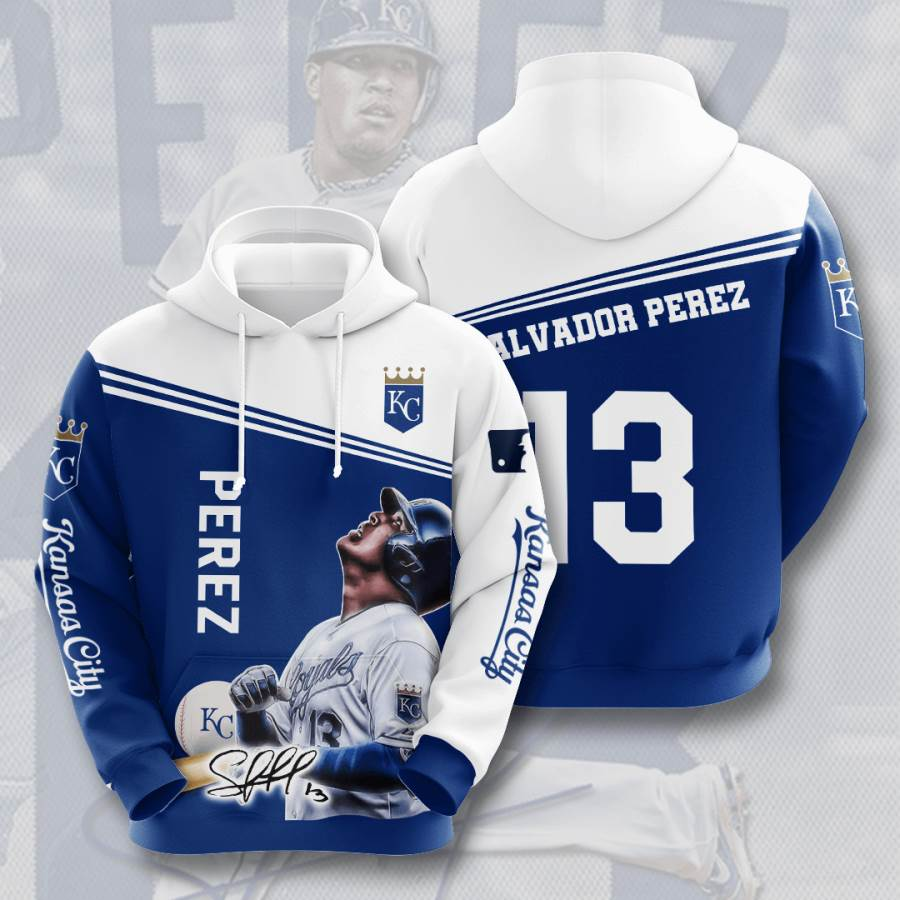 Kansas City Royals No941 Custom Hoodie 3D