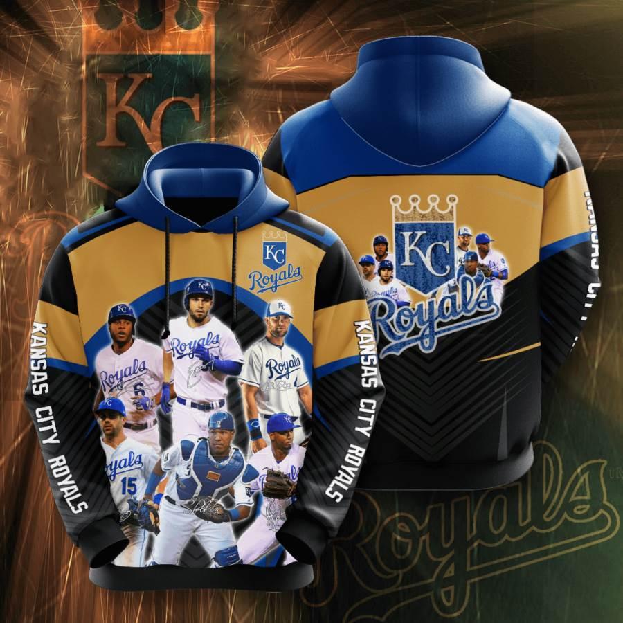 Kansas City Royals No945 Custom Hoodie 3D