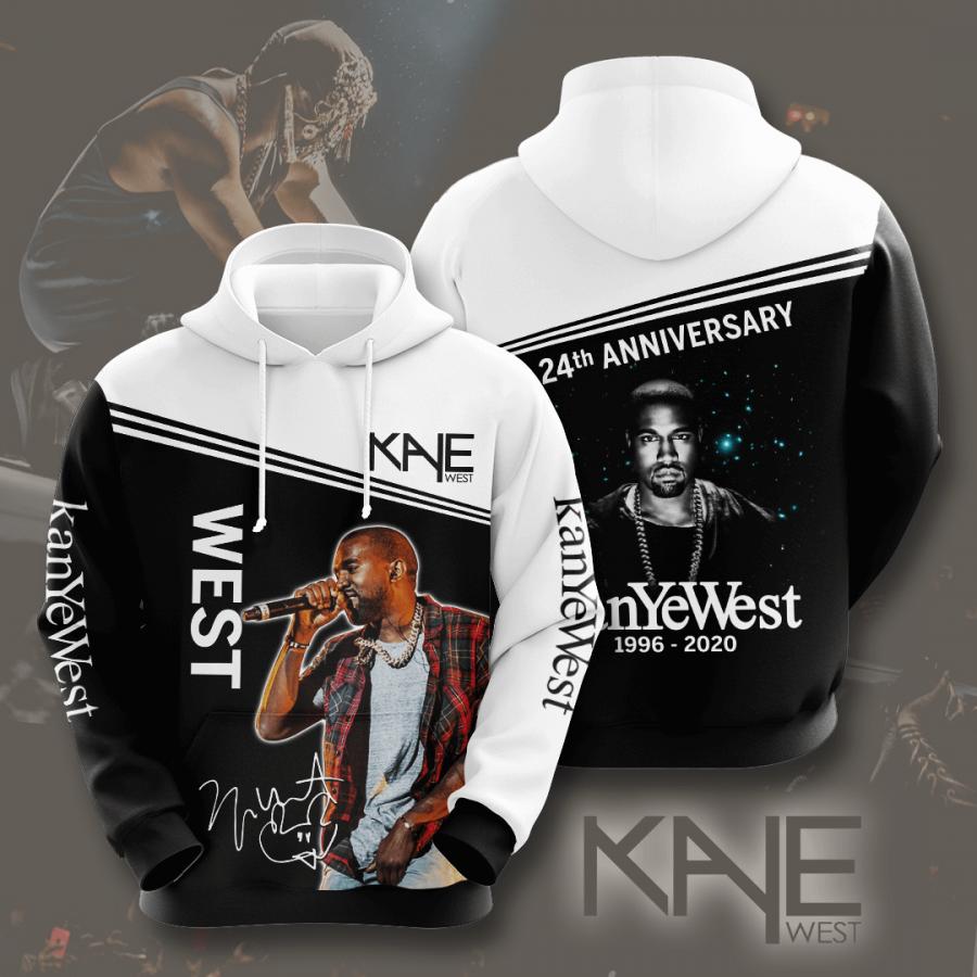 Kanye West No947 Custom Hoodie 3D