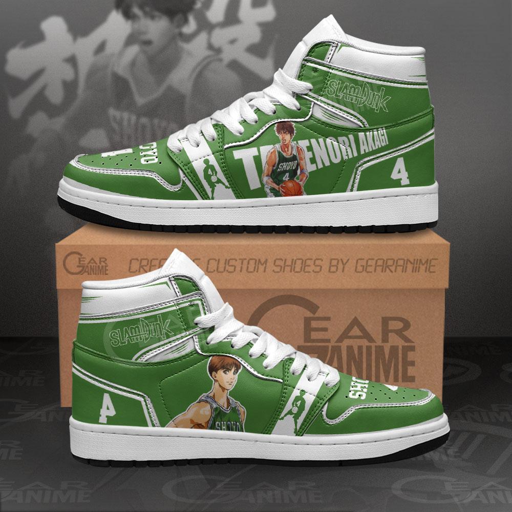 Kenji Fujima Sneakers Slam Dunk Anime Air Jordan Shoes