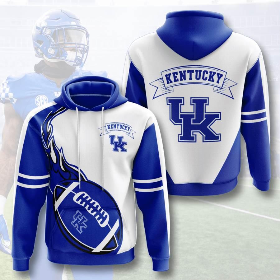 Kentucky Wildcats No955 Custom Hoodie 3D