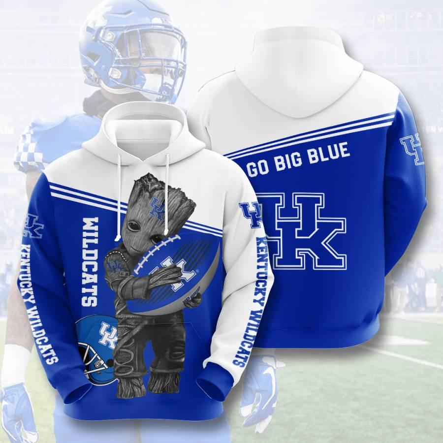 Kentucky Wildcats No957 Custom Hoodie 3D