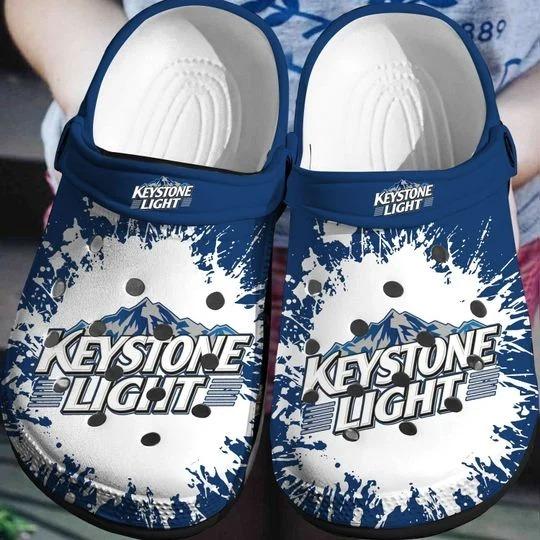 Keystone Light Crocs Clog Shoes
