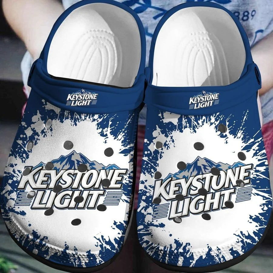 Keystone Light No45 Crocs Clog Shoes
