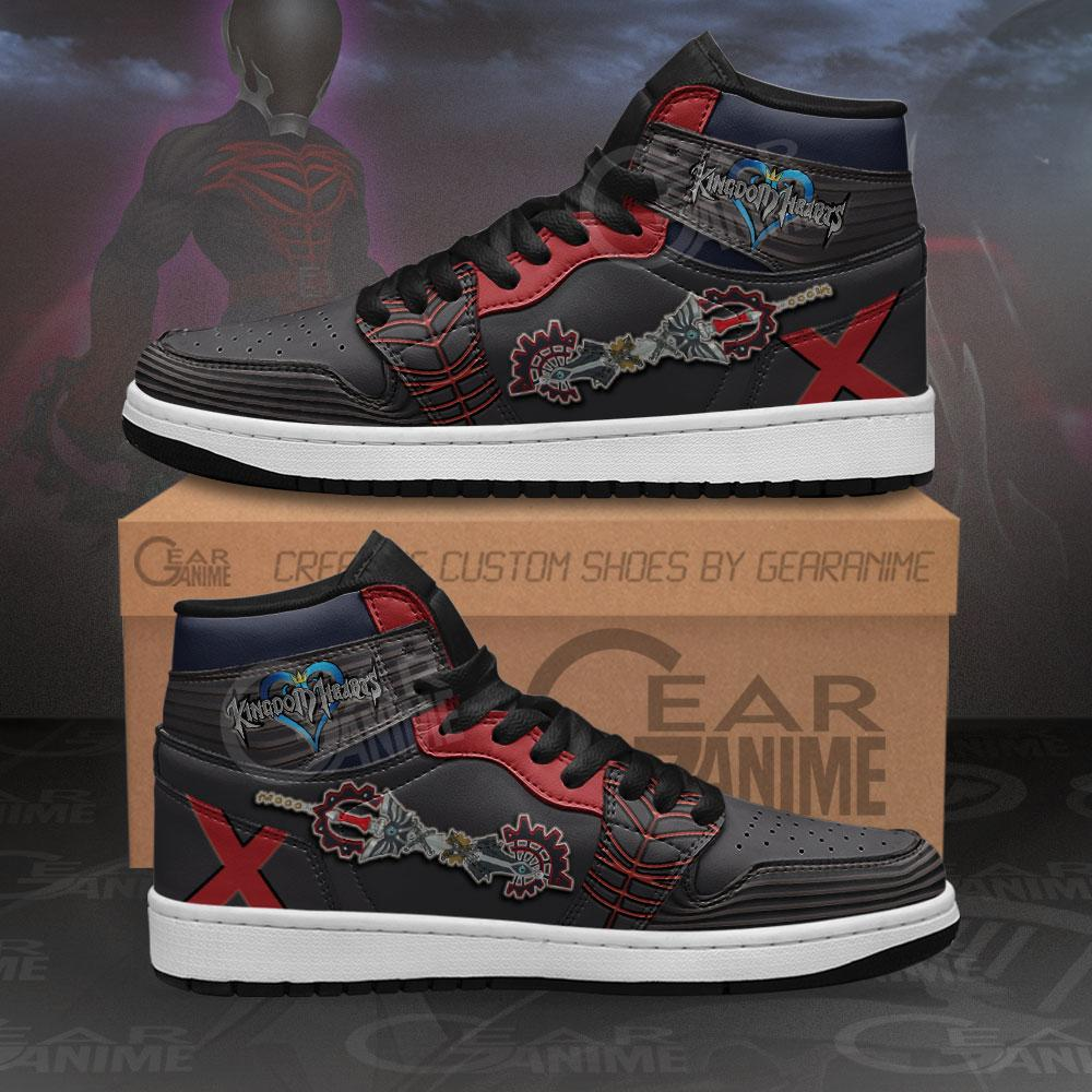 Kingdom Hearts Vanitas Sword Sneakers Anime Air Jordan Shoes