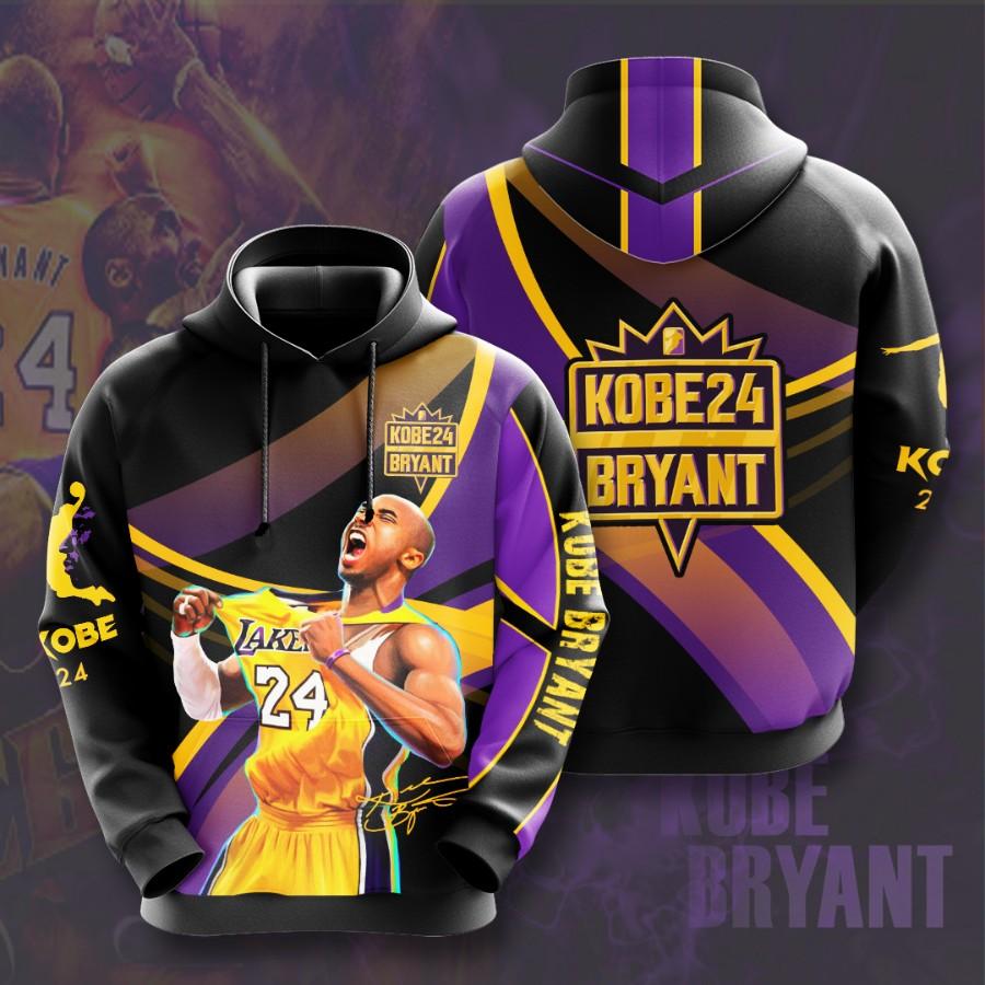 Kobe Bryant No968 Custom Hoodie 3D