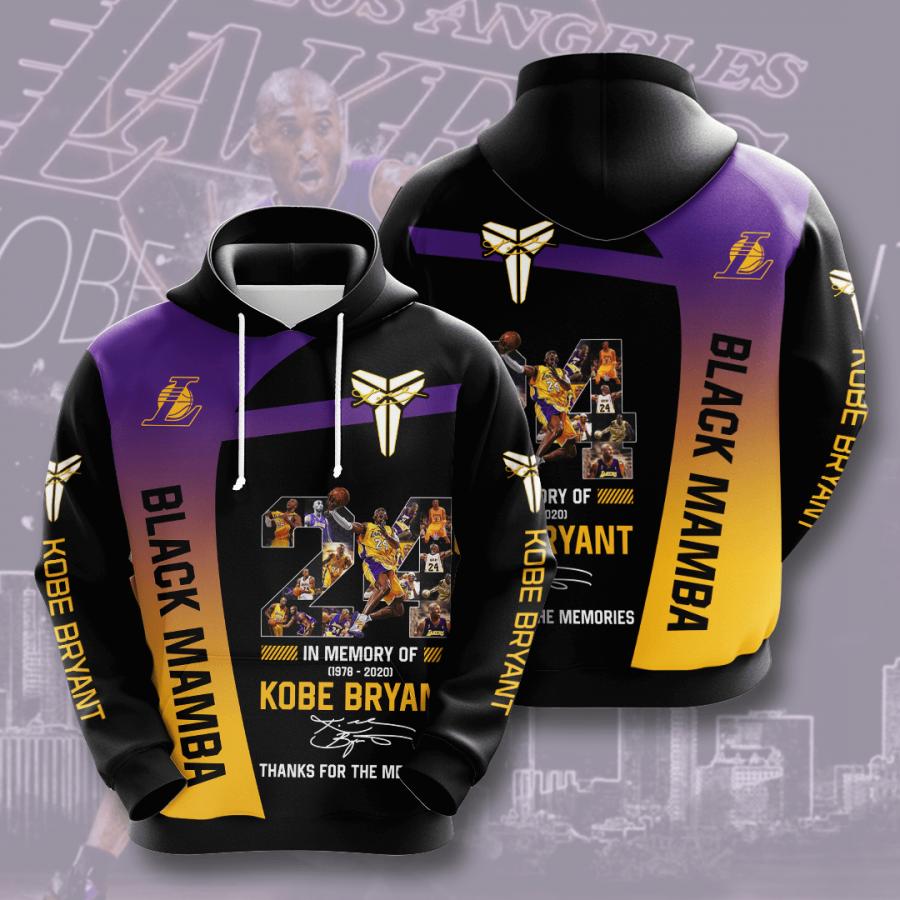 Kobe Bryant No969 Custom Hoodie 3D