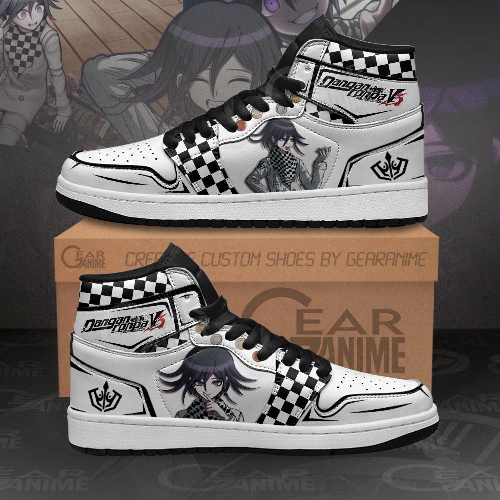 Koikichi Sneakers Dangan Ronpa Custom Anime Air Jordan Shoes