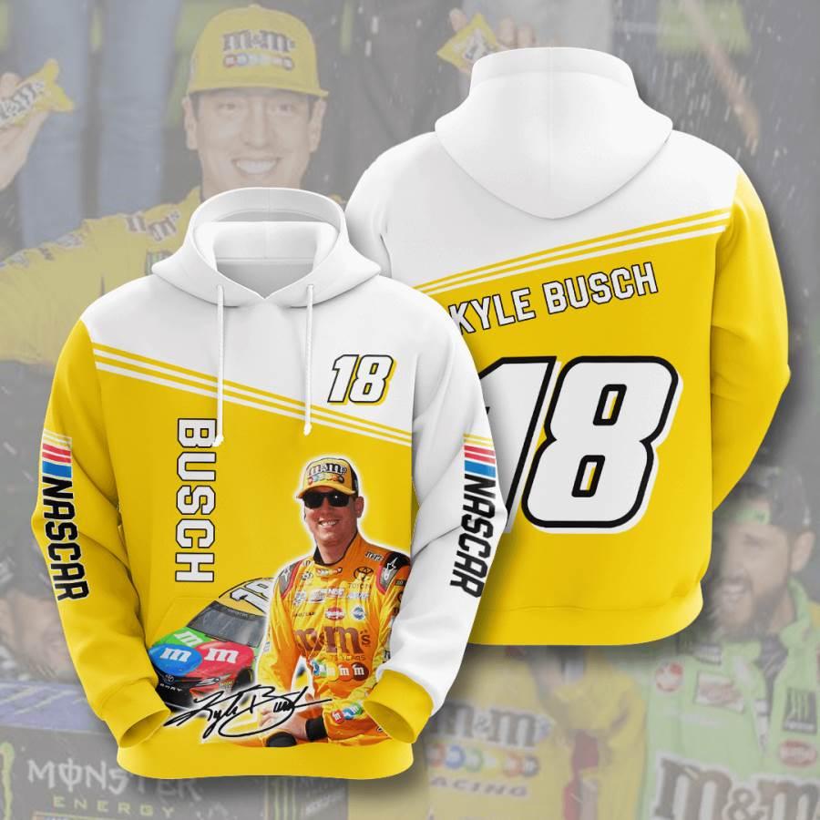 Kyle Busch No973 Custom Hoodie 3D