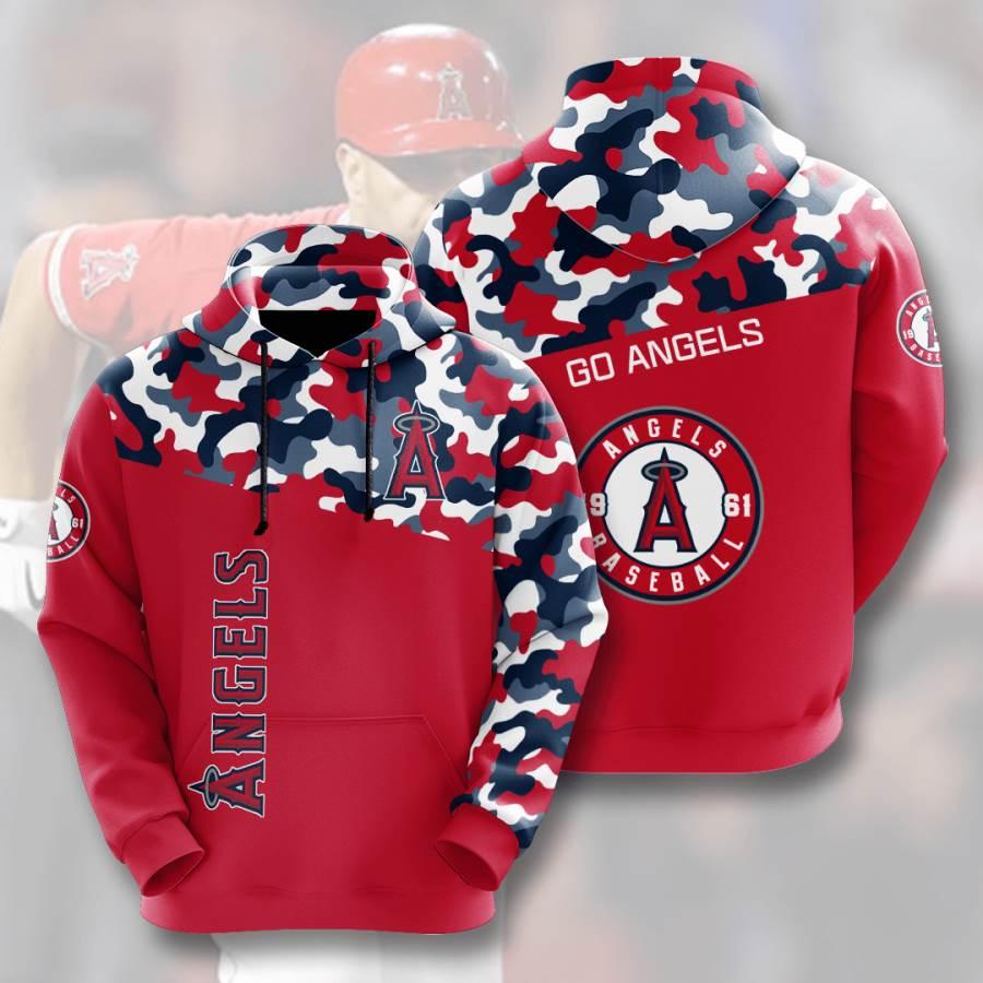 Los Angeles Angels No1003 Custom Hoodie 3D