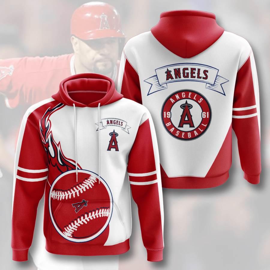 Los Angeles Angels No1004 Custom Hoodie 3D