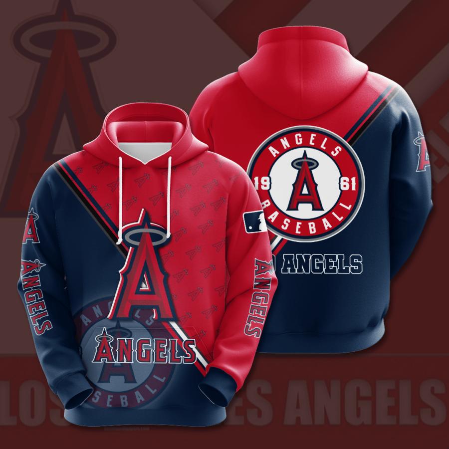 Los Angeles Angels No1010 Custom Hoodie 3D