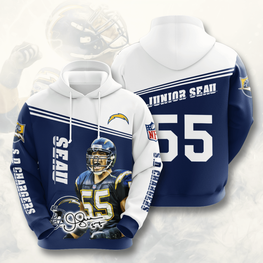 Los Angeles Chargers No1015 Custom Hoodie 3D